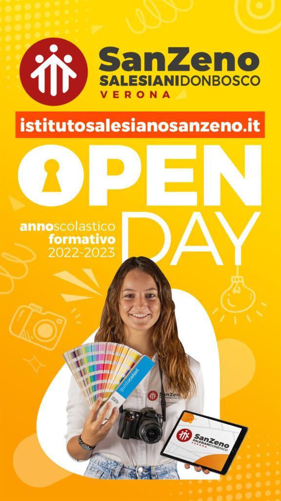 IGStories OPENDAY Sett GRAFICA SanZeno