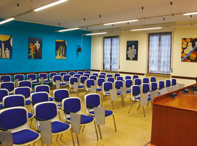 sala azzurra istituto salesiano san zeno